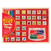 Melissa & Doug - Houten Stempelset - Favorite Things