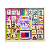 Melissa and Doug - Deluxe Wooden Stamp Set – Fairy Tale