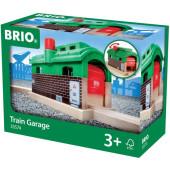 BRIO Treingarage met Roldeuren - 33574