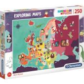 Clementoni Puzzel 250 stukjes Belangrijke mensen in Europa