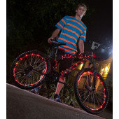 IkziLight Fietswielverlichting 2x20 LED - Rood