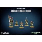 Warhammer 40K : Astra Militarum Cadian Command Squad