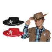 Kinder Cowboyhoed Vilt Zwart