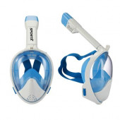 Snorkelset Full Face Blauw Medium