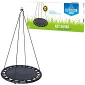 Outdoor Play Mat Swing Ø 100 cm - blauw