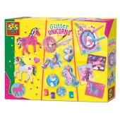 SES Glitter Eenhoorns Knutselset 3in1