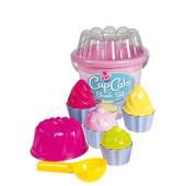 Cupcake Emmerset 12 delen Roze