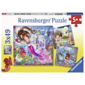 Ravensburger - Betoverende zeemeerminnen (3x49)