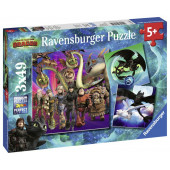 Ravensburger - DRA: Dragons 3 (3x49)