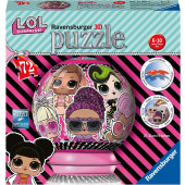 Ravensburger 3D puzzel -  L.O.L. Surprise (72)