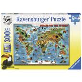 Ravensburger - Animals of the world (300)