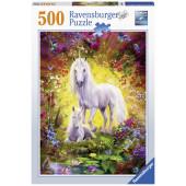Ravensburger - Eenhoorn met veulen (500)