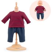 Corolle - Babypop Mijn Eerste Poppenkleding Gestreept T- Shirt & Broek - 30 cm