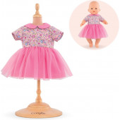 """Corolle - Babypop Mijn Eerste Poppenjurk Pink Sweet Dreams BB 14"""" - 36 cm"""