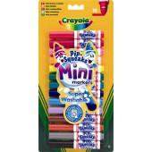 Crayola 14 Mini Afwasbare Viltstiften