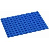 Hubelino Grondplaat Blauw 140 - (16x22,5cm)