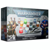 Warhammer 40K Paint Set + Tools