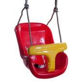 Hermic - Babyschommel Luxe Rood/Geel