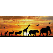 4895225915156 - Diamond Dotz ® painting - African Sky