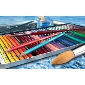 STABILO Aquacolor Metalen Doos, 24st.