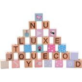 Jouéco® - The Wildies Family Alfabet blokken met zakje
