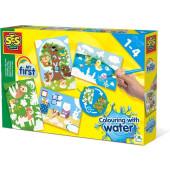 SES-Kleuren met water - Verborgen dieren