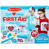 Melissa & Doug - Get Well First Aid Kit Play Set