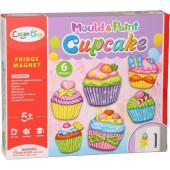Gips Gieten Magneten - Cupcakes