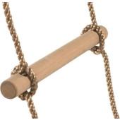 Houten Touwladder PP touw 12 sporten 4,4m