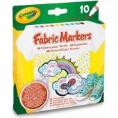 Crayola 10 Textielstiften