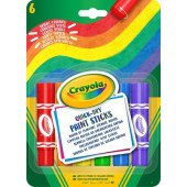 Crayola 6 Verf Sticks