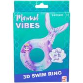 Zwemring zeemeermin 3D 3-6 jaar