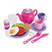Dantoy Lunch speelset (18-delig) Roze
