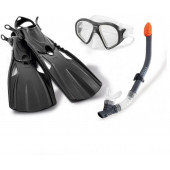 Intex Reef Rider Sports Set Snorkelset 14+ Zwart - (55657)