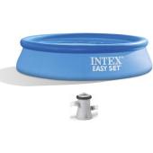 Intex Easy Set Pool Set 244x61cm + 12V Pomp - (28108)