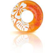 Intex Helder Gekleurde Zwemband Ø91cm - Oranje - (59251)