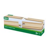 BRIO Middellange Rechte Rails - 33335