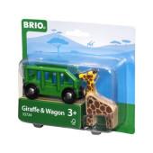BRIO Wagon met Giraffe - 33724
