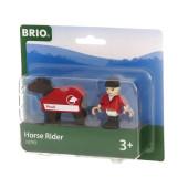 BRIO Paard met Ruiter - 33793