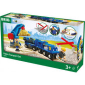 BRIO Politie Goud Transport Set - 33812