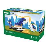 BRIO Politie Helicopter - 33828