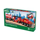 BRIO Trein van de brandweer