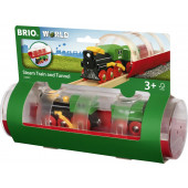 BRIO Tunnel & Steam Train - 33892