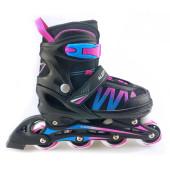 Alert Inline Skate roze/blauw maat 35-38