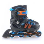 Alert Inline Skate oranje/blauw maat 31-34