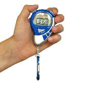 Stopwatch sport timer met alarm Blauw