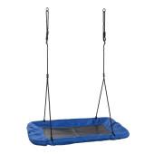 Swing King - Nestschommel Canvas Rechthoeking - Blauw