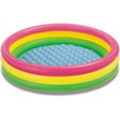 Intex Sunset Glow Pool Ø 147 x 33 cm - (57422)