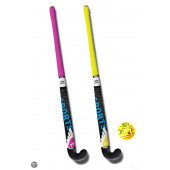 Hockeyset - 2 sticks 33 inch met bal in tas