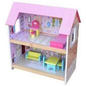 Playwood Poppenhuis Roze - 50 cm hoog
